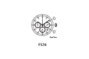 Mechanizm Kwarcowy MIYOTA FS26