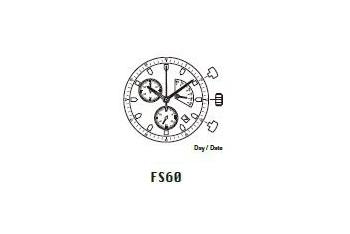 Mechanizm Kwarcowy MIYOTA FS60