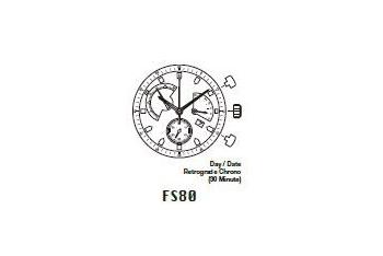 Mechanizm Kwarcowy MIYOTA FS80