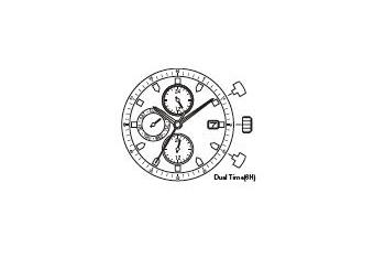 Mechanizm Kwarcowy MIYOTA JP15