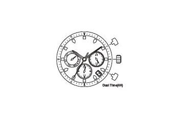 Mechanizm Kwarcowy MIYOTA JP25