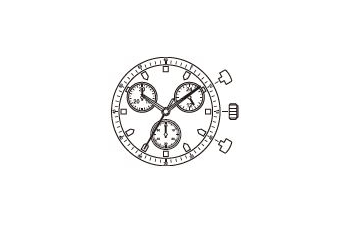 Mechanizm Kwarcowy MIYOTA JS00