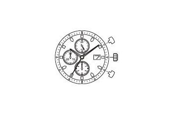 Mechanizm Kwarcowy MIYOTA JS15