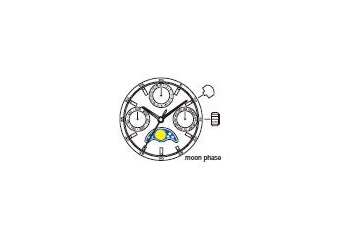 Mechanizm Kwarcowy MIYOTA 6P00