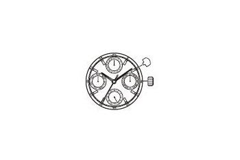 Mechanizm Kwarcowy MIYOTA 6P09