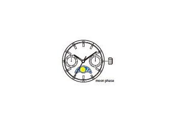 Mechanizm Kwarcowy MIYOTA 6P20
