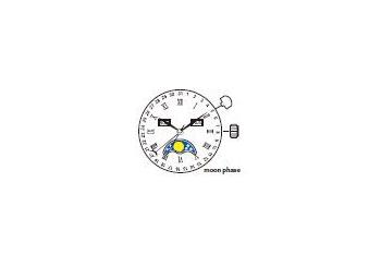 Mechanizm Kwarcowy MIYOTA 6P80