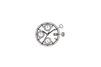 Mechanizm Kwarcowy MIYOTA 6P89
