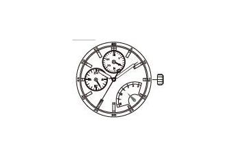 Mechanizm Kwarcowy MIYOTA JR00