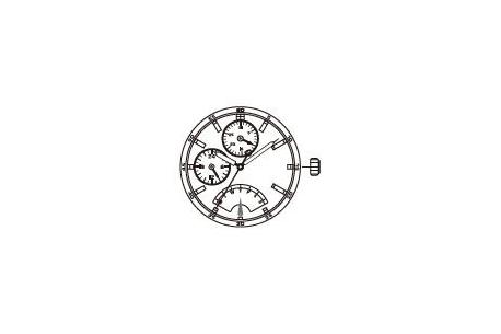 Mechanizm Kwarcowy MIYOTA JR10