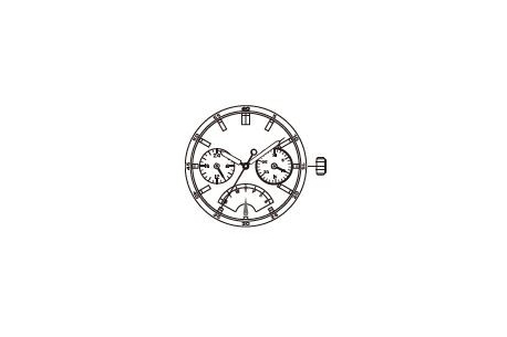 Mechanizm Kwarcowy MIYOTA JR20