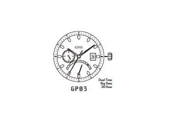 Mechanizm Kwarcowy MIYOTA GP03