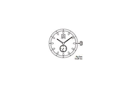 Mechanizm Kwarcowy MIYOTA GP10