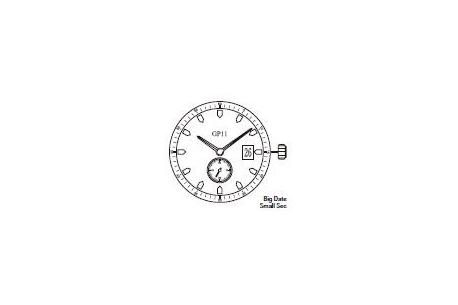 Mechanizm Kwarcowy MIYOTA GP11