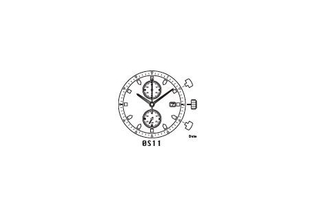 Mechanizm Kwarcowy MIYOTA OS11