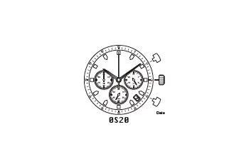 Mechanizm Kwarcowy MIYOTA OS20