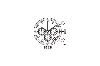 Mechanizm Kwarcowy MIYOTA OS2A