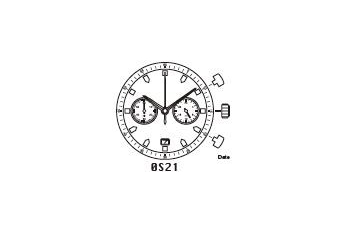 Mechanizm Kwarcowy MIYOTA OS21