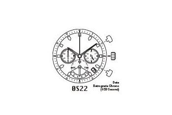 Mechanizm Kwarcowy MIYOTA OS22