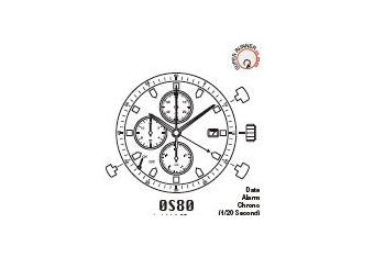 Mechanizm Kwarcowy MIYOTA OS80